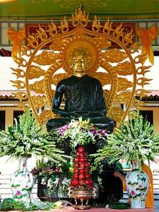 Tuong vua Tran Nhan Tong